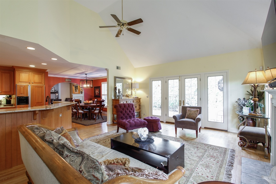 Real Estate Photography - 65 Harris, Clarendon Hills, IL, 60514 - Family Room