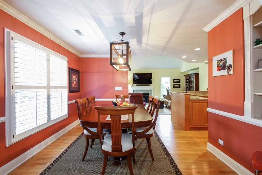 Real Estate Photography - 65 Harris, Clarendon Hills, IL, 60514 - Dining Area
