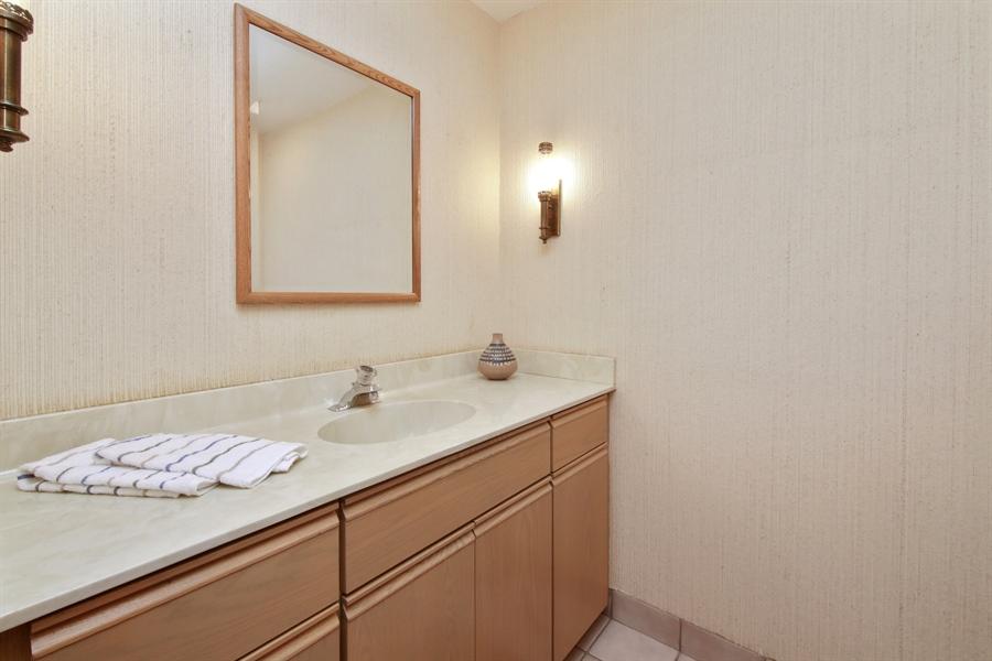 Real Estate Photography - 144 Arrowwood, Northbrook, IL, 60062 - Half Bath