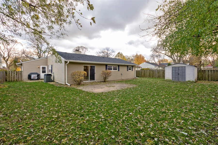Real Estate Photography - 1840 N Fernandez Ave, Arlington Heights, IL, 60004 - Rear View