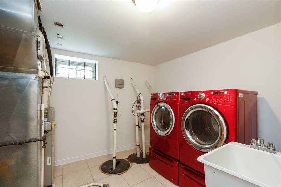 Real Estate Photography - 7724 S Prairie Ave., CHICAGO, IL, 60619 - Laundry Room