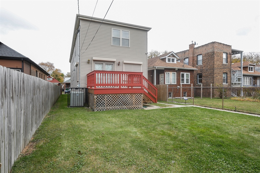 Real Estate Photography - 7724 S Prairie Ave., CHICAGO, IL, 60619 - Rear View