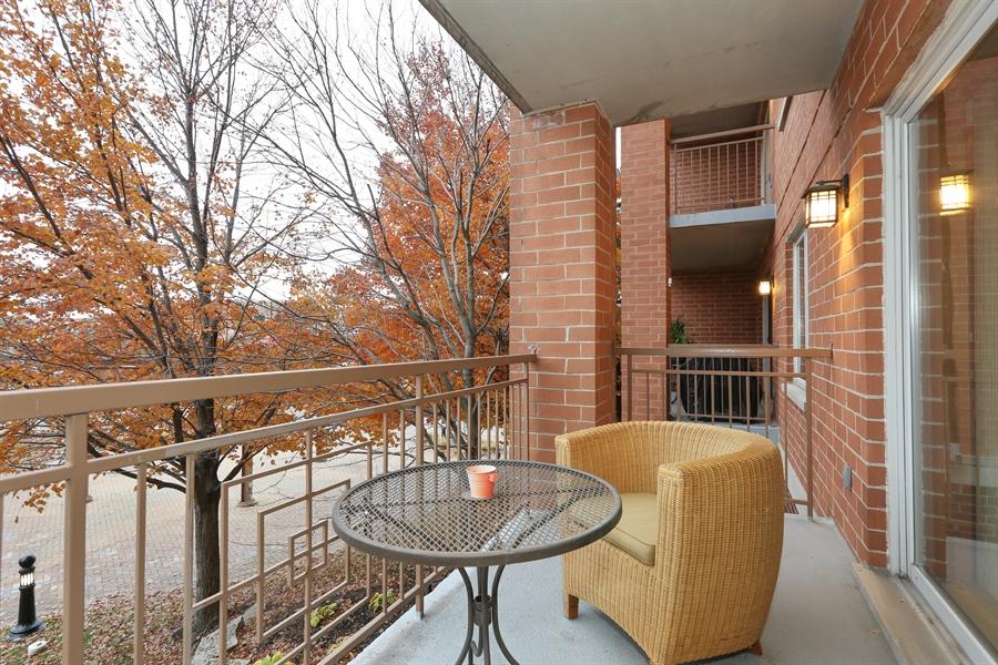 Real Estate Photography - 1 N. Beacon Pl, 212, La Grange, IL, 60525 - Balcony