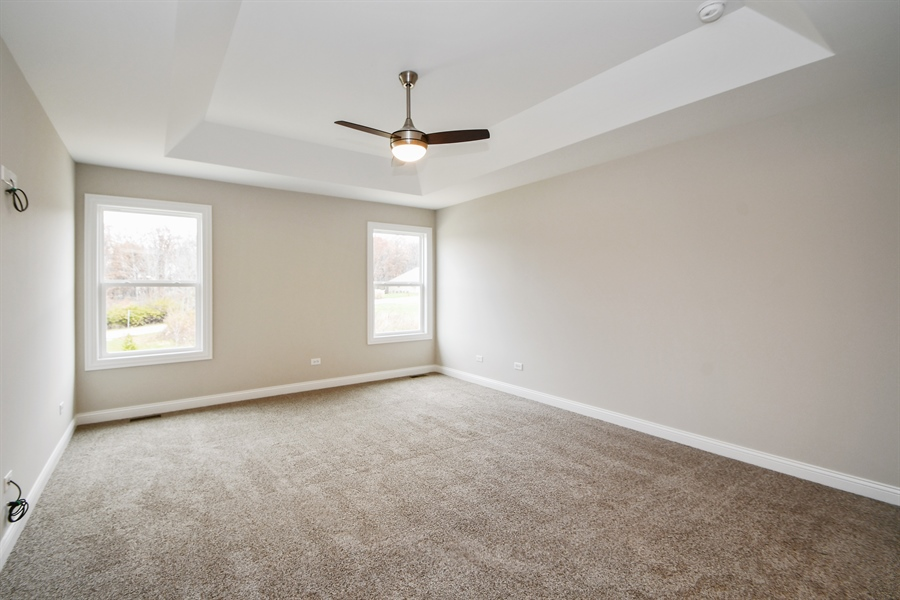 Real Estate Photography - 835 Hayfield, Crown Point, IN, 46307 - Master Bedroom
