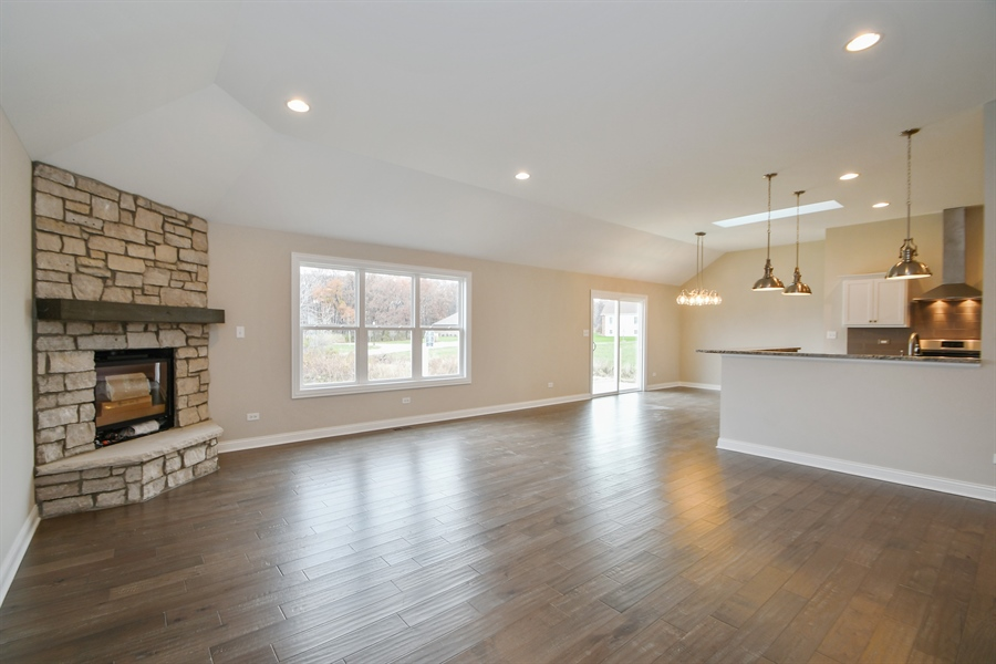 Real Estate Photography - 835 Hayfield, Crown Point, IN, 46307 - Family Room