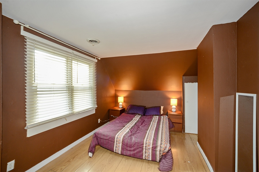 Real Estate Photography - 3509 Scott, Franklin Park, IL, 60131 - 3rd Bedroom