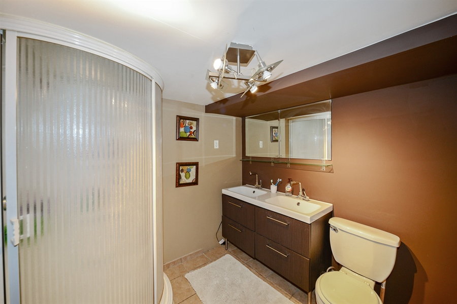 Real Estate Photography - 3509 Scott, Franklin Park, IL, 60131 - Bathroom
