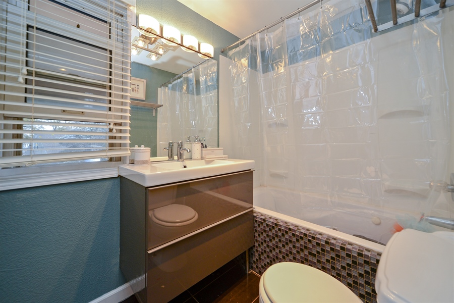 Real Estate Photography - 3509 Scott, Franklin Park, IL, 60131 - 2nd Bathroom