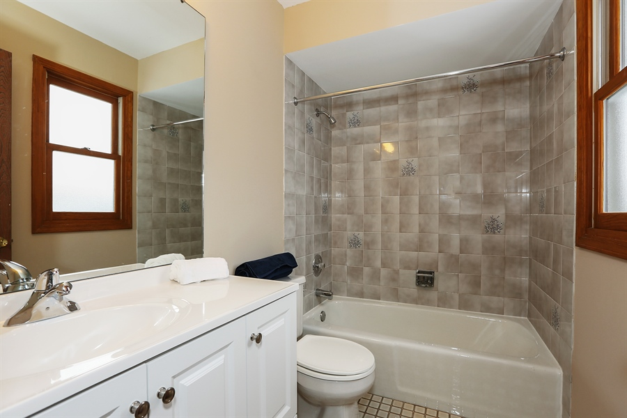 Real Estate Photography - 1800 71st St., Downers Grove, IL, 60516 - Master Bathroom