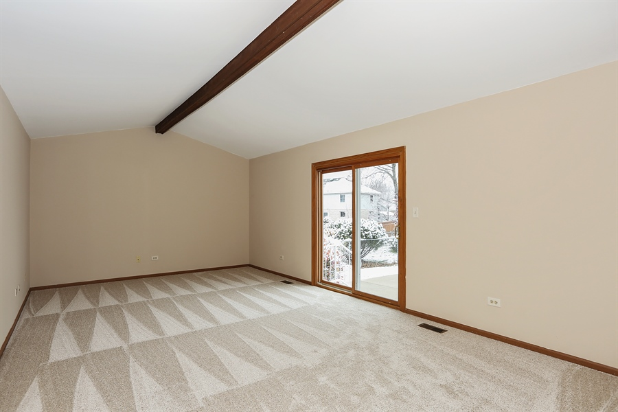 Real Estate Photography - 1800 71st St., Downers Grove, IL, 60516 - Family Room (alternate view)