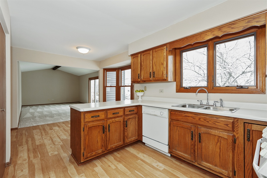 Real Estate Photography - 1800 71st St., Downers Grove, IL, 60516 - Kitchen