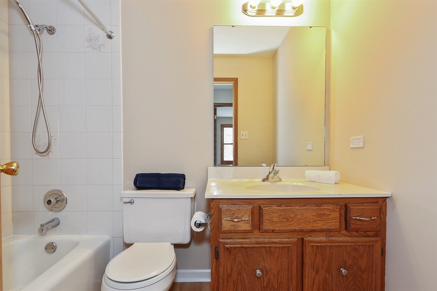 Real Estate Photography - 1800 71st St., Downers Grove, IL, 60516 - Family Bathroom