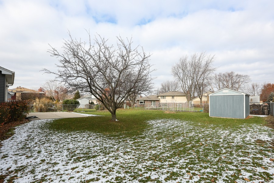 Real Estate Photography - 1800 71st St., Downers Grove, IL, 60516 - Back Yard