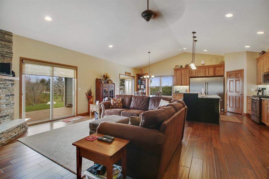 Real Estate Photography - 6011 Park View Dr, Bourbonnais, IL, 60914 - Living Room
