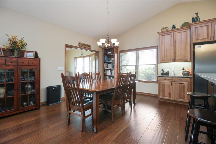 Real Estate Photography - 6011 Park View Dr, Bourbonnais, IL, 60914 - Dining Room
