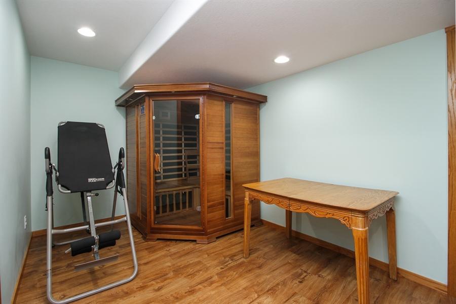 Real Estate Photography - 6011 Park View Dr, Bourbonnais, IL, 60914 - Sauna