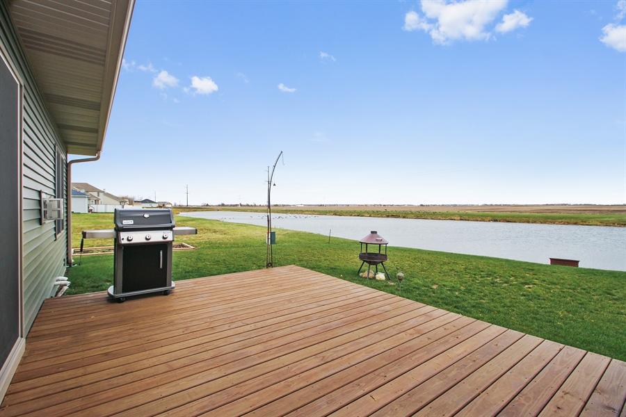 Real Estate Photography - 6011 Park View Dr, Bourbonnais, IL, 60914 - Deck