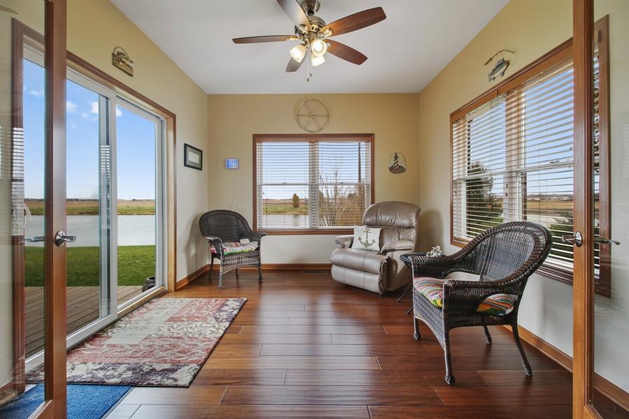 Real Estate Photography - 6011 Park View Dr, Bourbonnais, IL, 60914 - Sun Room