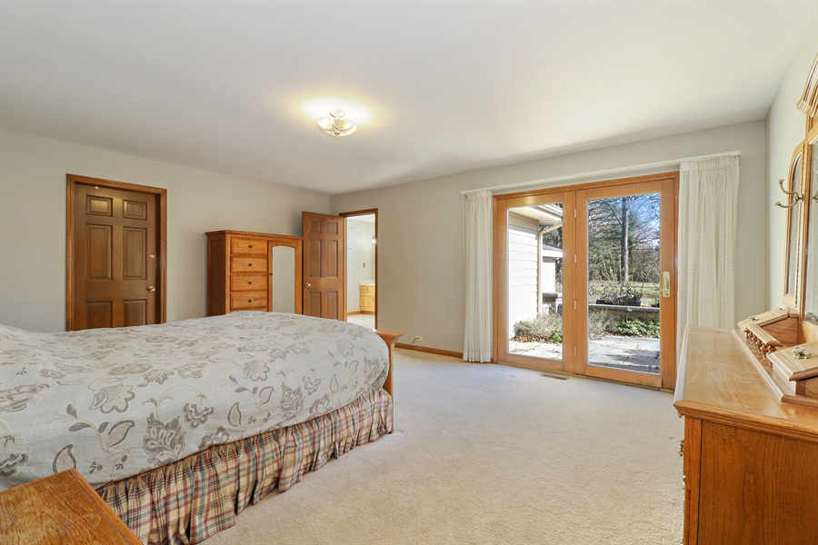 Real Estate Photography - 3777 Douglas Rd, Downers Grove, IL, 60515 - Master Bedroom