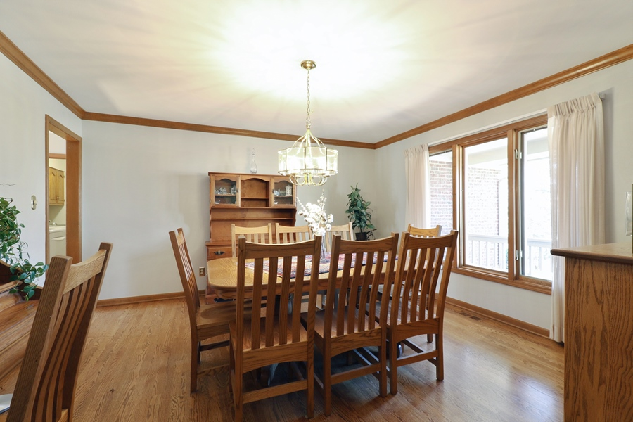 Real Estate Photography - 3777 Douglas Rd, Downers Grove, IL, 60515 - Dining Room