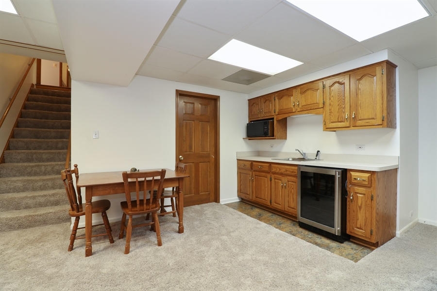 Real Estate Photography - 3777 Douglas Rd, Downers Grove, IL, 60515 - Basement
