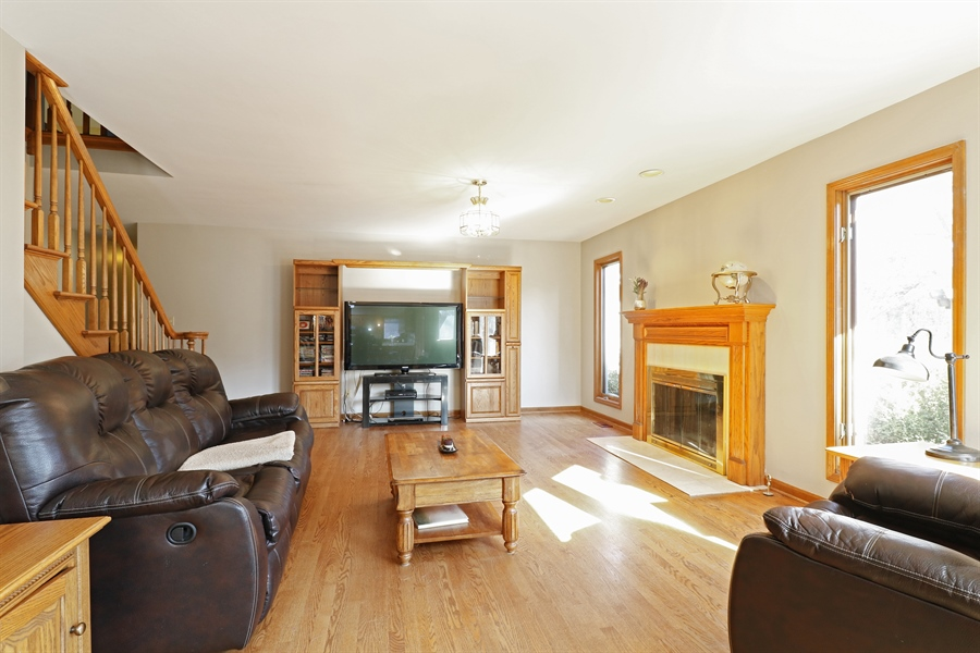 Real Estate Photography - 3777 Douglas Rd, Downers Grove, IL, 60515 - Family Room