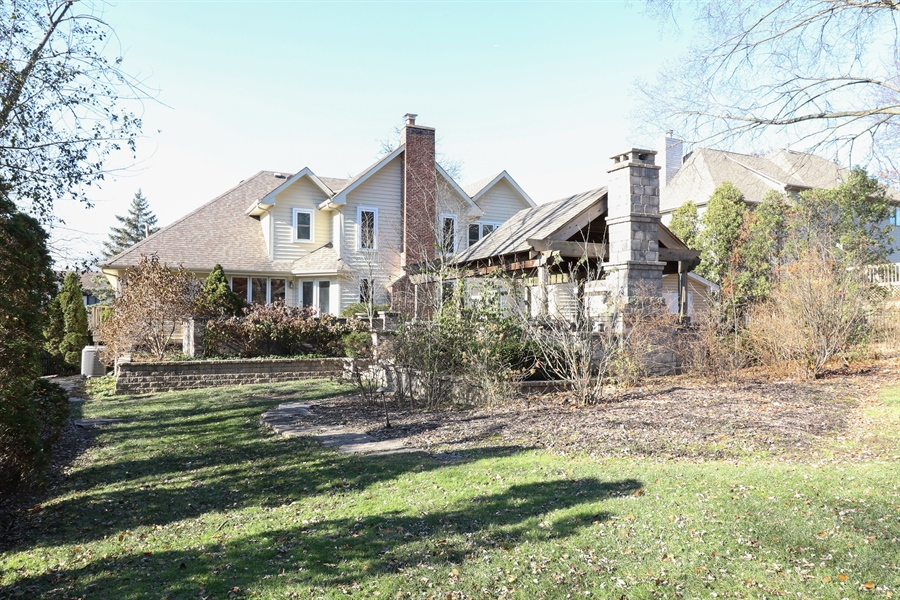 Real Estate Photography - 3777 Douglas Rd, Downers Grove, IL, 60515 - Rear View