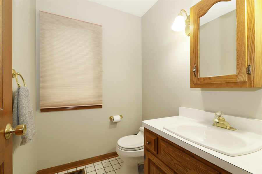 Real Estate Photography - 3777 Douglas Rd, Downers Grove, IL, 60515 - Bathroom