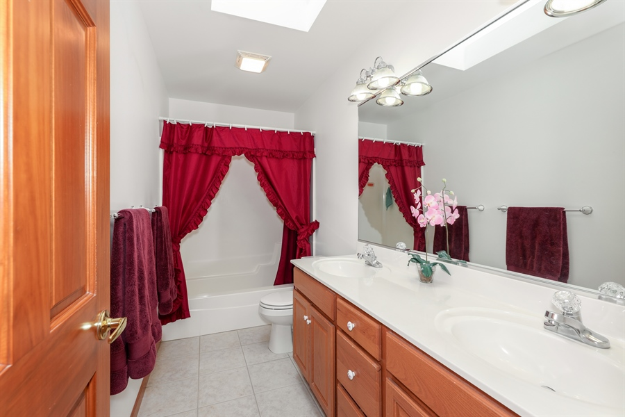 Real Estate Photography - 9445 Beall, Dyer, IN, 46311 - Master Bathroom