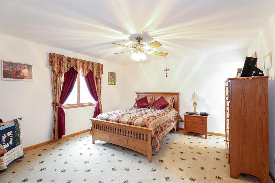 Real Estate Photography - 9445 Beall, Dyer, IN, 46311 - Master Bedroom