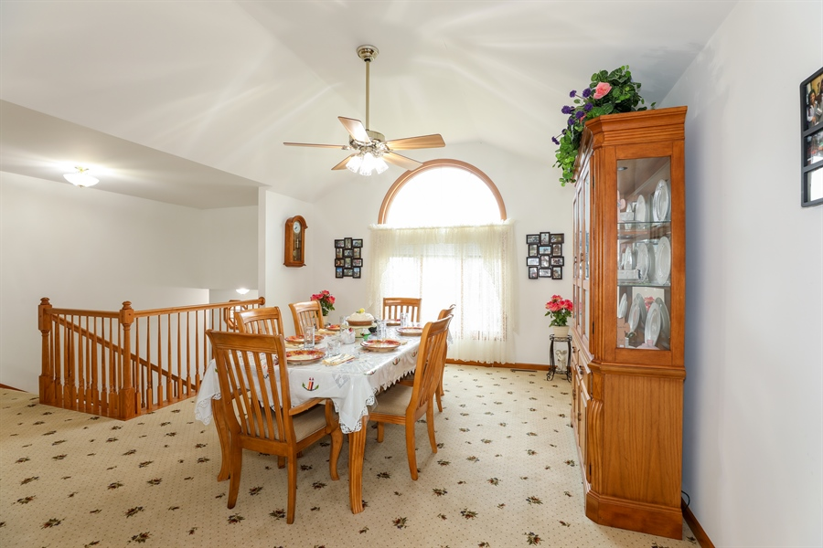 Real Estate Photography - 9445 Beall, Dyer, IN, 46311 - Dining Room