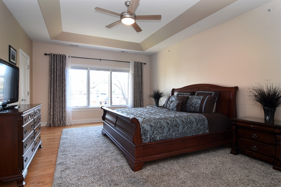 Real Estate Photography - 207 S Bobby Ln, Mt Prospect, IL, 60056 - Master Bedroom