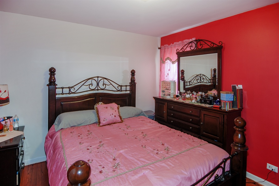 Real Estate Photography - 406 Granville Ave, Bellwood, IL, 60104 - Master Bedroom