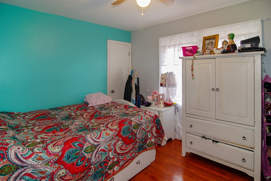 Real Estate Photography - 406 Granville Ave, Bellwood, IL, 60104 - 2nd Bedroom