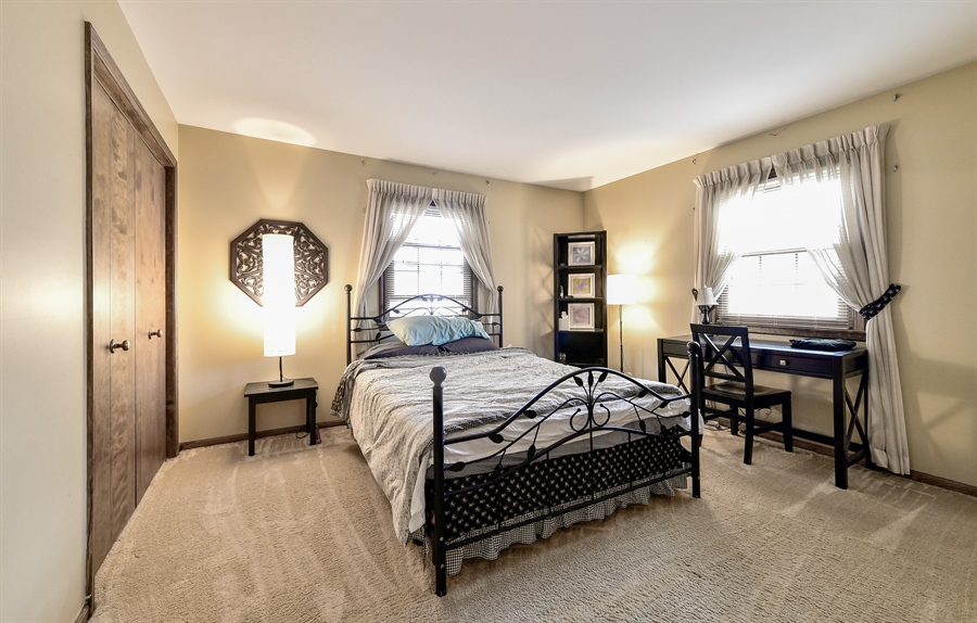 Real Estate Photography - 313 Queens Pkwy, Bartlett, IL, 60103 - Bedroom