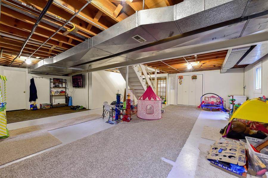 Real Estate Photography - 313 Queens Pkwy, Bartlett, IL, 60103 - Basement