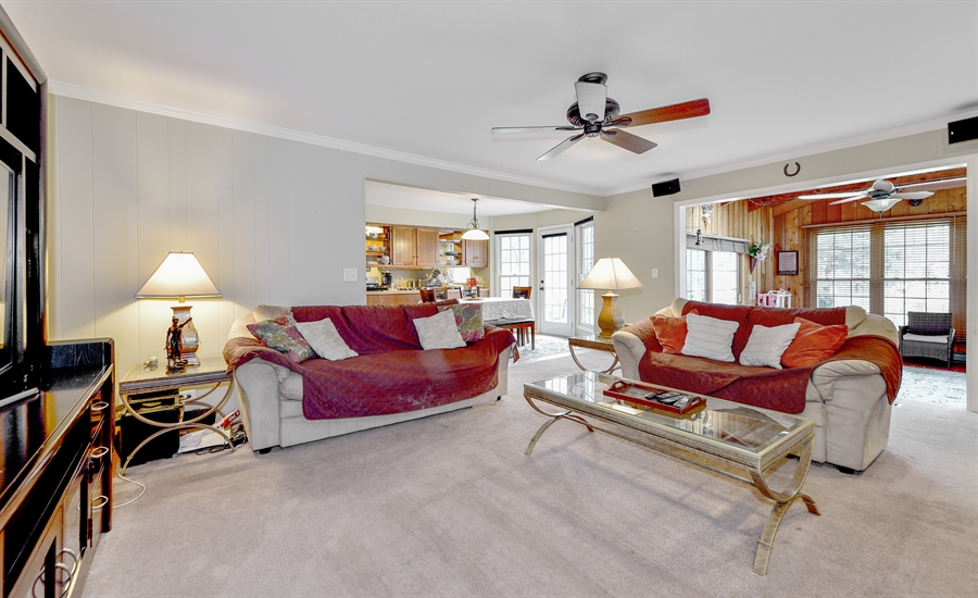 Real Estate Photography - 313 Queens Pkwy, Bartlett, IL, 60103 - Family Room