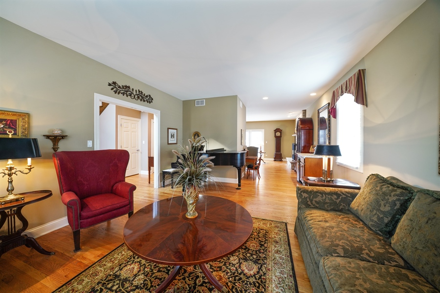 Real Estate Photography - 106 S. Lincoln St, Westmont, IL, 60559 - Living Room