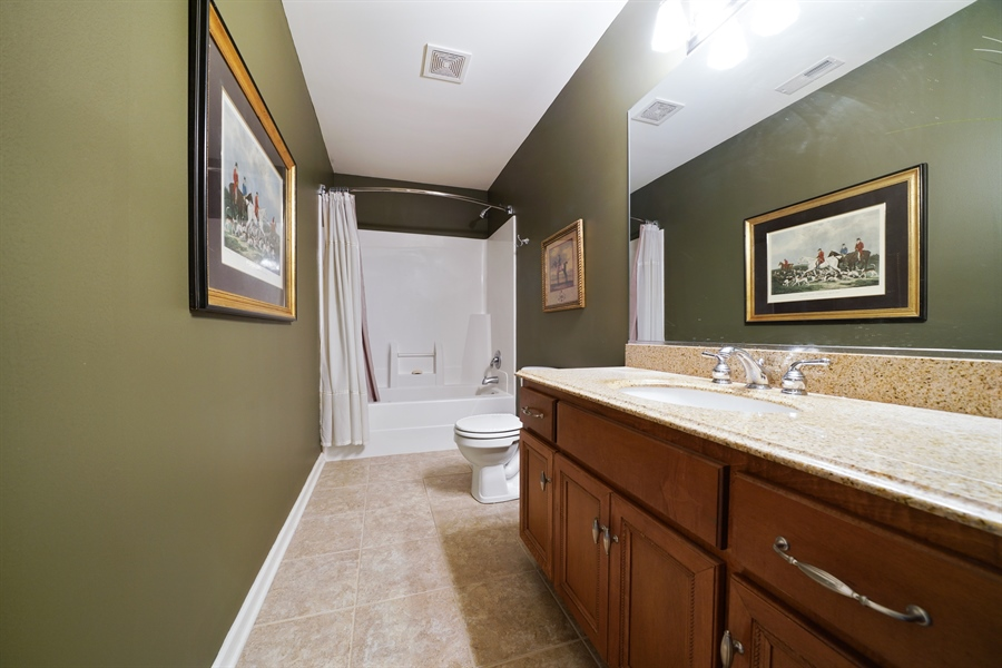 Real Estate Photography - 106 S. Lincoln St, Westmont, IL, 60559 - 3rd Bathroom