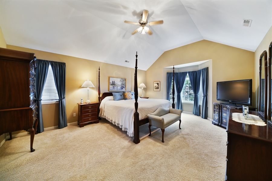 Real Estate Photography - 106 S. Lincoln St, Westmont, IL, 60559 - Master Bedroom