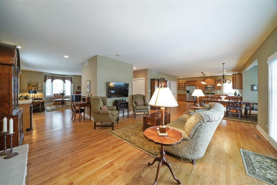 Real Estate Photography - 106 S. Lincoln St, Westmont, IL, 60559 - Living Rm/Family Rm