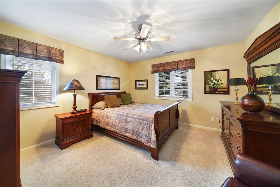 Real Estate Photography - 106 S. Lincoln St, Westmont, IL, 60559 - 3rd Bedroom