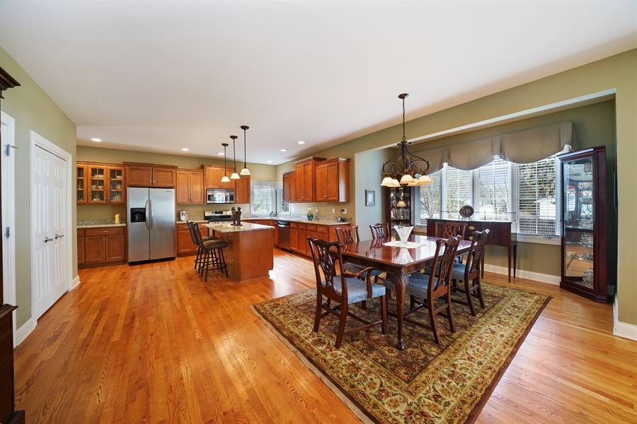 Real Estate Photography - 106 S. Lincoln St, Westmont, IL, 60559 - Kitchen / Breakfast Room