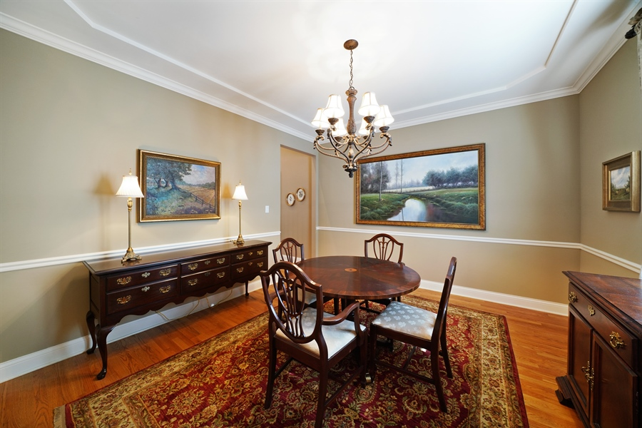 Real Estate Photography - 106 S. Lincoln St, Westmont, IL, 60559 - Dining Room