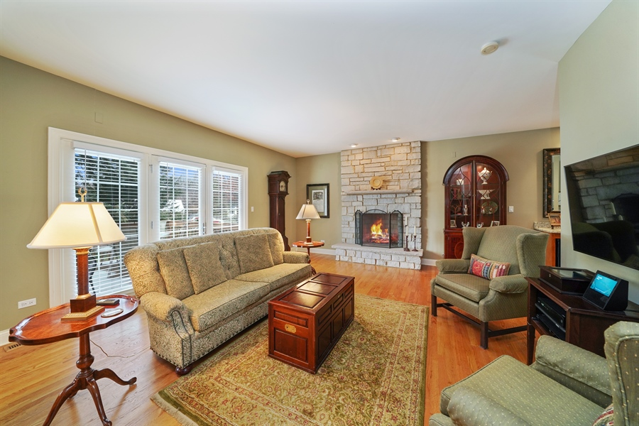 Real Estate Photography - 106 S. Lincoln St, Westmont, IL, 60559 - Family Room