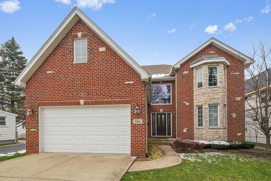 Real Estate Photography - 106 S. Lincoln St, Westmont, IL, 60559 - Front View