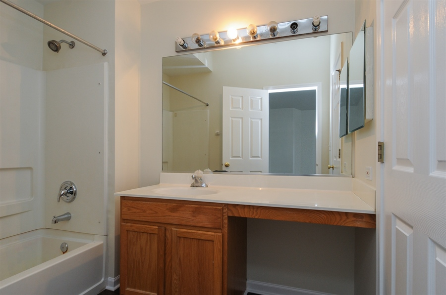 Real Estate Photography - 2485 Reflections Dr, Aurora, IL, 60502 - Master Bathroom