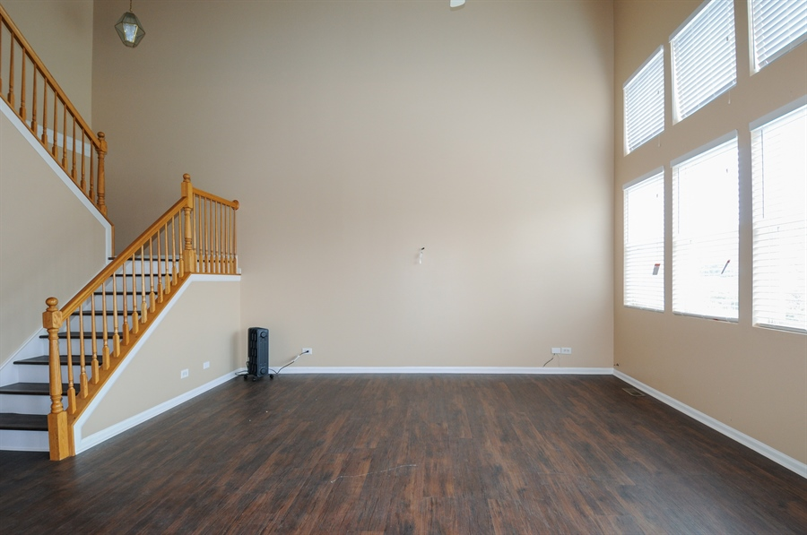 Real Estate Photography - 2485 Reflections Dr, Aurora, IL, 60502 - Family Room