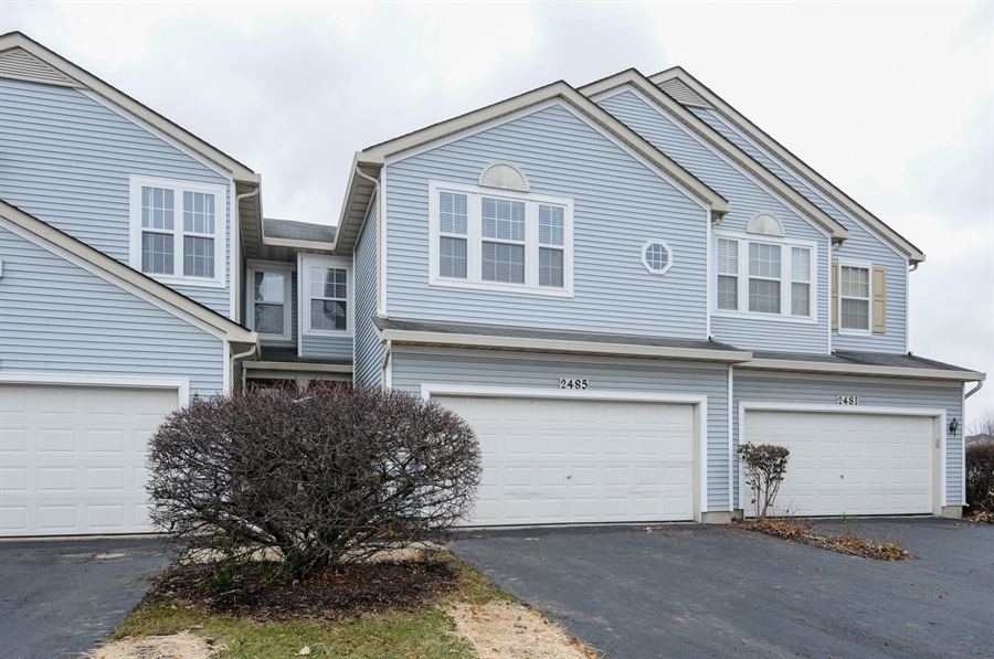 Real Estate Photography - 2485 Reflections Dr, Aurora, IL, 60502 - Front View