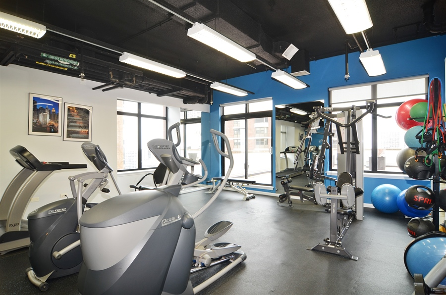 Real Estate Photography - 1122 N Dearborn, 8C, Chicago, IL, 60610 - Fitness Center
